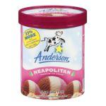 Anderson dairy - Premium Ice Cream 0079117012855  / UPC 079117012855