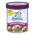 Anderson dairy - Premium Ice Cream 0079117012916  / UPC 079117012916