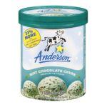 Anderson dairy - Premium Ice Cream 0079117012947  / UPC 079117012947