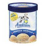 Anderson dairy - Premium Ice Cream 0079117206063  / UPC 079117206063