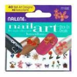 Nailene - Nailene Nail Art Stick On Decals 40 stick-on decals 0079181771320  / UPC 079181771320