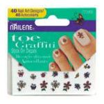Nailene - Stick On Decals 40 decals 0079181773959  / UPC 079181773959