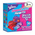 Wonka -  Sweetart Hearts Valentine's Day Mini Gift Exchange Kit Boxes 0079200922108