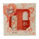 Dana Classic Fragrances -  Loves White Vanilla Gift Set For Women Set-body Mist & Body Powder 0079639307101