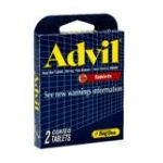 Advil - Advil Tablets Advanced Medicine For Pain Relief 2 Coated Tablets 2 tablet 0080893022013  / UPC 080893022013