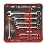 Apex Tool Group -  Wrench Ratching Comb. Set Sae 7 Pc Gearwrench 0082171093173