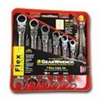Apex Tool Group - Gearwrench Flex Head Sae Comb 7Pc 0082171097003  / UPC 082171097003