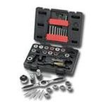 Apex Tool Group -  40 Pc. Tap and Die Drive Tool Sets - 40pc metric tap and die set 0082171388620