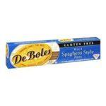 DeBoles -  Gluten Free Rice Spaghetti Style Pasta 0087336528835