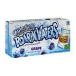 CapriSun - Roarin'waters Flavored Water Beverage Grape 0087684000397  / UPC 087684000397