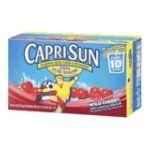 CapriSun -  Original Capri Sun -   Original Capri Sun Wild Cherry Juice 0087684001004 UPC 08768400100