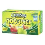 CapriSun - 100% Juice - Apple Juice 0087684001080  / UPC 087684001080