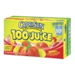 CapriSun -  100% Juice -   100% Juice Berry Juice 0087684001097 UPC 08768400109