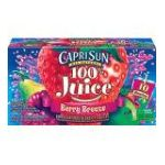 CapriSun - 100% Juice Berry Breeze 0087684009703  / UPC 087684009703