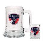 Great American Products -  Great American FC Dallas Tankard & Shot Glass Set 0089006014389