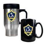 Great American Products -  Great American Los Angeles Galaxy Travel & Mug Set 0089006026467