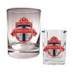 Great American Products -  Great American Toronto FC Rock & Shot Glass Set 0089006026856