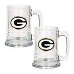 Great American Products -  Great American Products Green Bay Packers . Glass Tankard Set 0089006028225