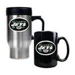 Great American Products -  Great American New York Jets Travel & Ceramic Mug Set 0089006028928