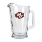 Great American Products -  Great American Products San Francisco 49ers  Glass Pitcher 0089006031416
