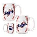 Great American Products -  Great American Los Angeles Dodgers Gameball Mug Set 0089006032628