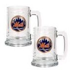 Great American Products -  MLB New York Mets . Glass Tankard (Set of 2) 0089006040692