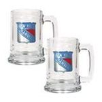 Great American Products -  Great American New York Rangers 2-Pack Tankard Set 0089006044201