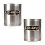 Great American Products -  Great American Anaheim Ducks 2-Pack Stainless Steel Can Covers Set 0089006044522