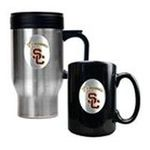 Great American Products -  USC Trojans Travel and Coffee Mug Set 0089006047561