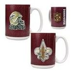 Great American Products -  Great American New Orleans Saints Coffee Mug Set 0089006055269