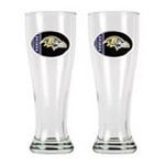 Great American Products -  Great American Baltimore Ravens  Pilsner Glass - Set of 2 0089006082647
