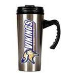 Great American Products -  Great American Minnesota Vikings . Stainless Steel Travel Mug 0089006180596
