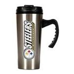 Great American Products -  Great American Pittsburgh Steelers . Stainless Steel Travel Mug 0089006180879