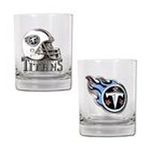Great American Products -  Great American Tennessee Titans 2 Piece Rocks Glass Set 0089006196962