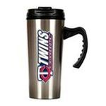 Great American Products -  MLB Twins  Stainless Steel Travel Mug 0089006197686