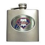 Great American Products -  MLB Phillies  Stainless Steel Flask 0089006463880