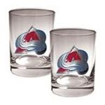 Great American Products -  Great American Colorado Avalanche 2-Pack Rocks Glass Set 0089006485912