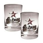 Great American Products -  MLB Houston Astros Rocks Glass (Set of 2) 0089006573756