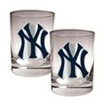 Great American Products -  MLB New York Yankees Rocks Glass (Set of 2) 0089006573831