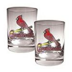 Great American Products -  MLB St. Louis Cardinals Rocks Glass (Set of 2) 0089006573909