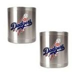Great American Products -  Great American Los Angeles Dodgers Stainless Steel Can Holder Set 0089006574081