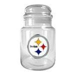 Great American Products -  Great American Products Pittsburgh Steelers  Glass Candy Jar 0089006751772