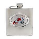 Great American Products -  Great American Colorado Avalanche Hip Flask 0089006833157