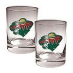 Great American Products -  Great American Minnesota Wild 2-Pack Rocks Glass Set 0089006840438