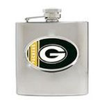 Great American Products -  NFL Packers  Stainless Steel Hip Flask 0089006864502