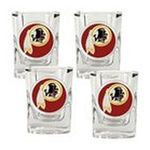 Great American Products -  Great American Products Washington Redskins Set of 4 Shot Glasses 0089006873214