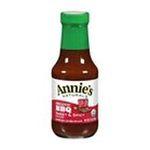 Annie's - Naturals Organic Sauce Sweet & Spicy Bbq 0092325000094  / UPC 092325000094