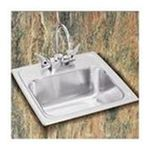 Elkay -  Pacemaker Self-Rimming Stainless Steel Bar Sink With One Hole Faucet 0094902001708