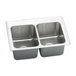 Elkay -  Elkay Kitchen Sink - 2 Bowl Lustertone DLR3322104 0094902007106
