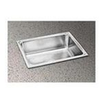 Elkay -  Lustertone 15 Single Bowl Sink with No Faucet Hole 0094902031484